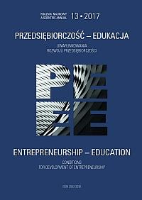 Pokaż  Tom 13 (2017): Uwarunkowania rozwoju przedsiębiorczości