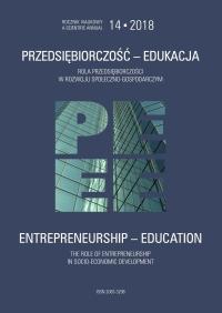 Pokaż  Tom 14 (2018): Rola przedsiębiorczości w rozwoju społeczno-gospodarczym