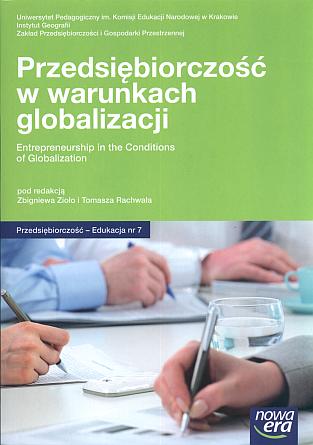 Pokaż  Tom 7 (2011): Przedsiębiorczość w warunkach globalizacji